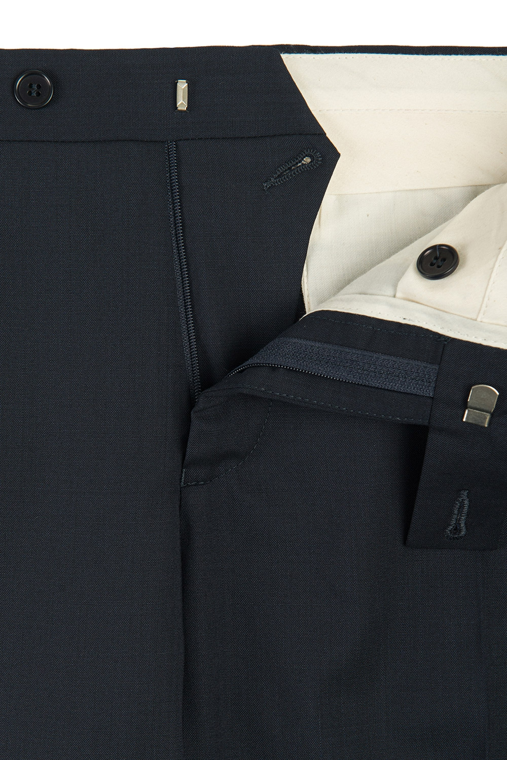 Superslim Navy Plain Trouser 1