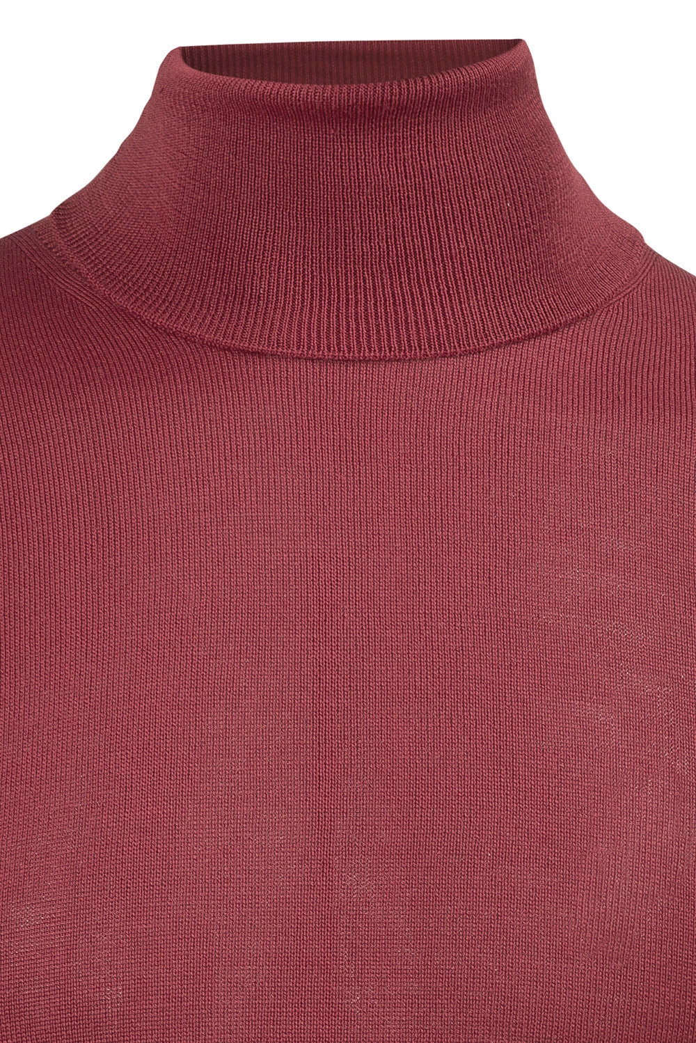 Slim Red Sweater 3