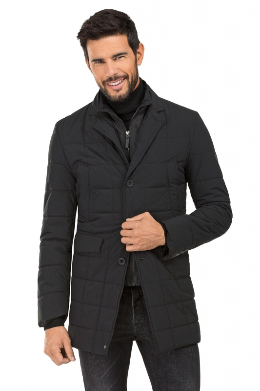 Black Plain Jacket