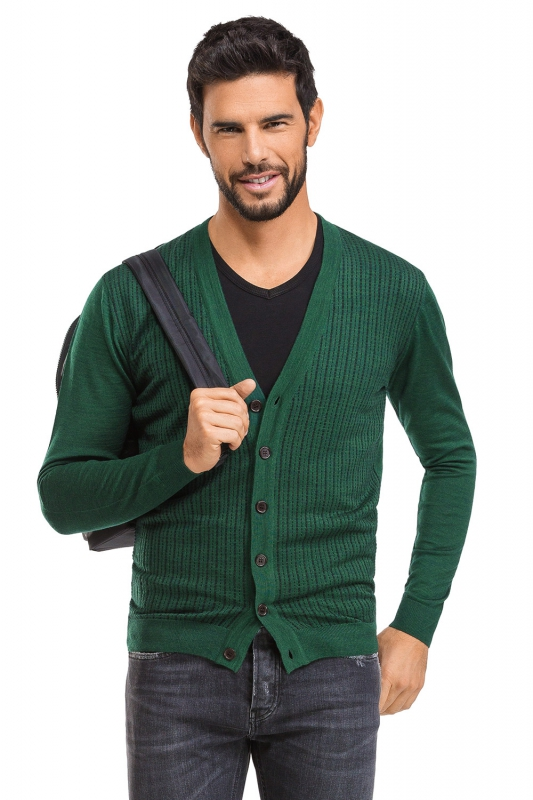 Regular body Green Sweater