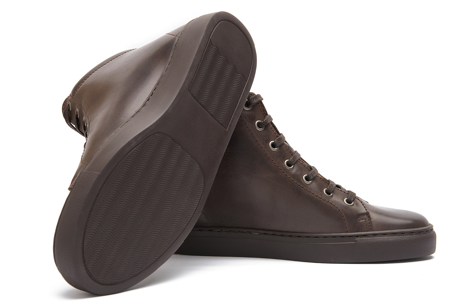 Brown Genuine leather Shoes 1