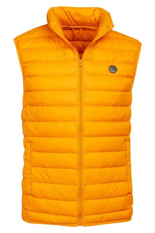Slim body Yellow Plain Waistcoat