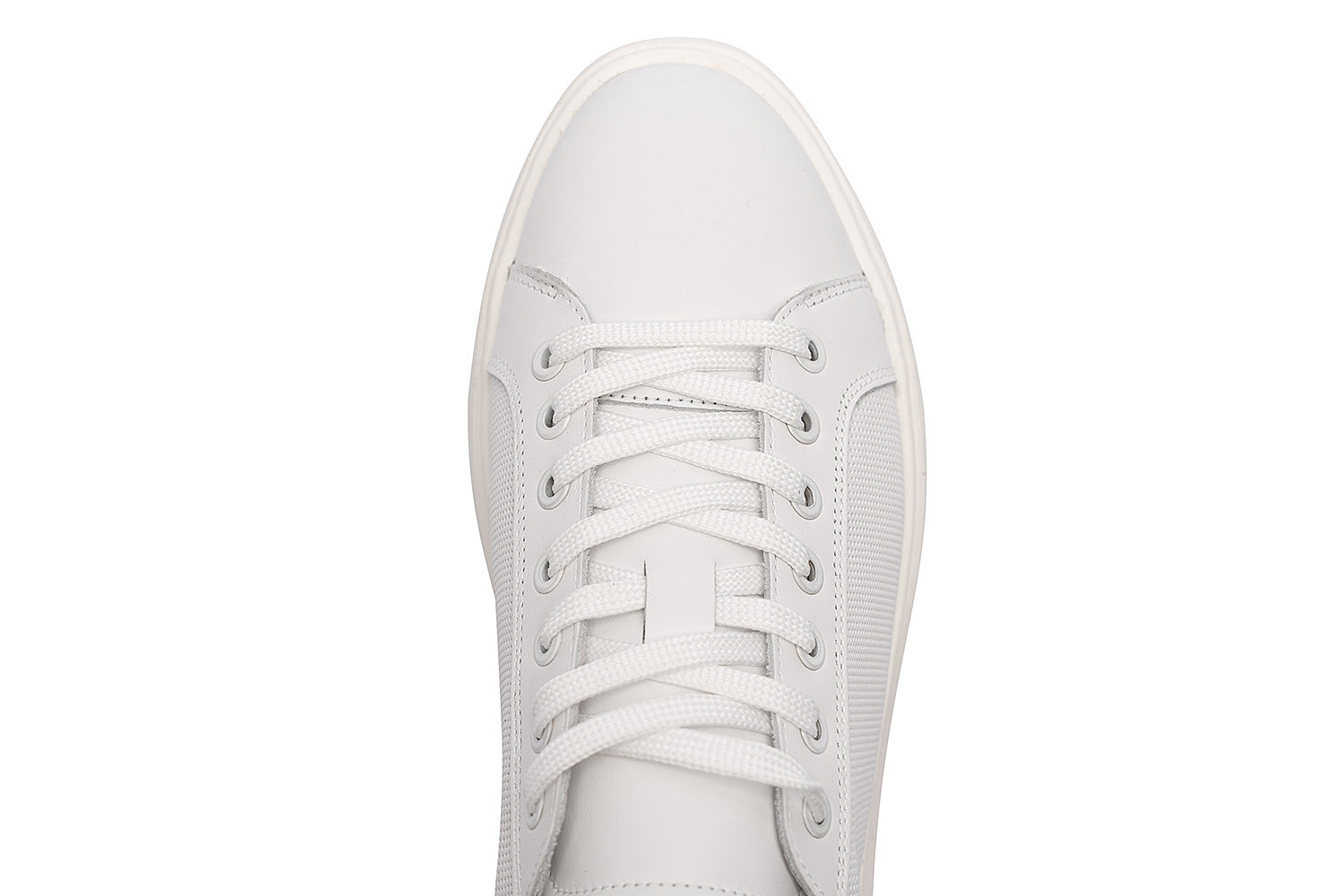 White Genuine leather Shoes 3