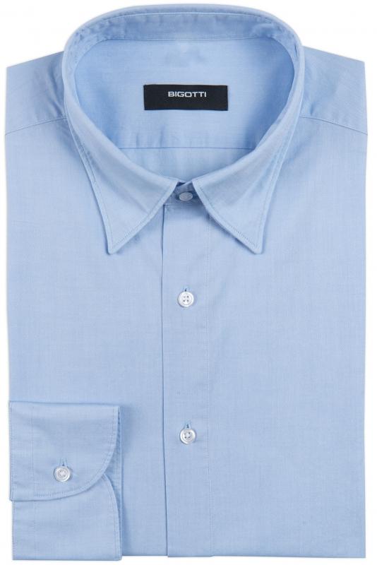 Slim Light blue Oxford Shirt