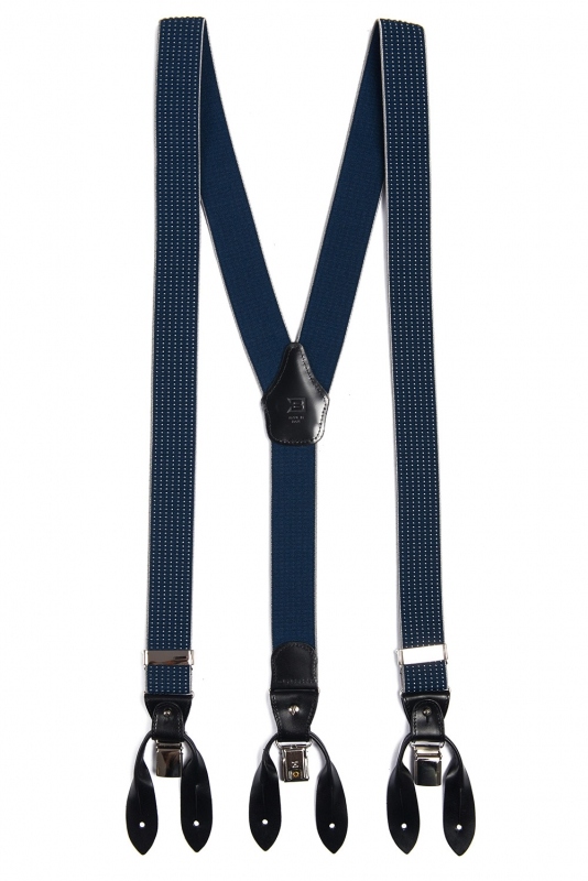 Blue Suspender
