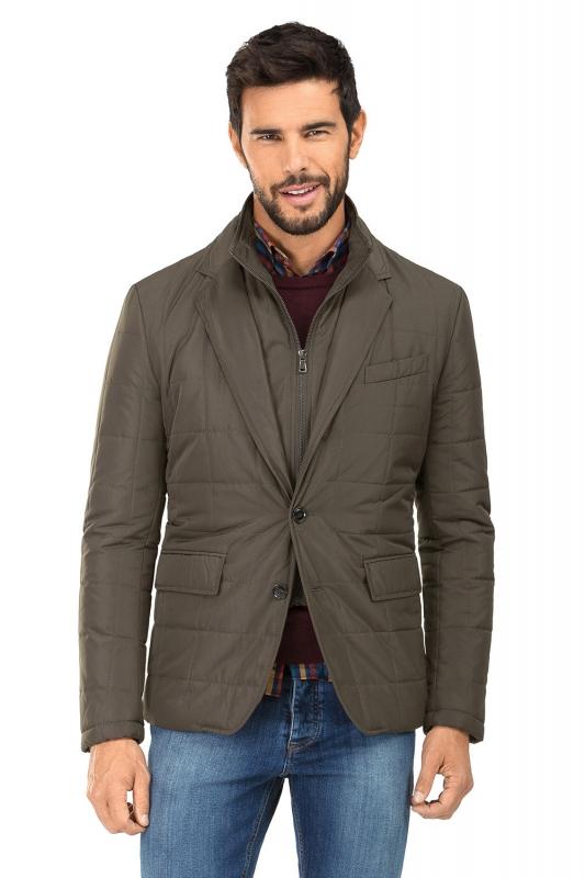 Brown Plain Jacket