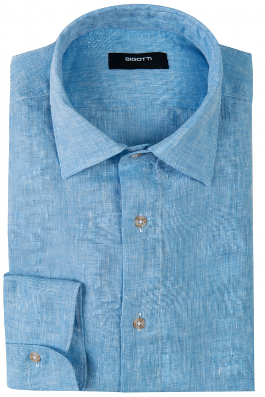 Shaped Light blue Uni Shirt