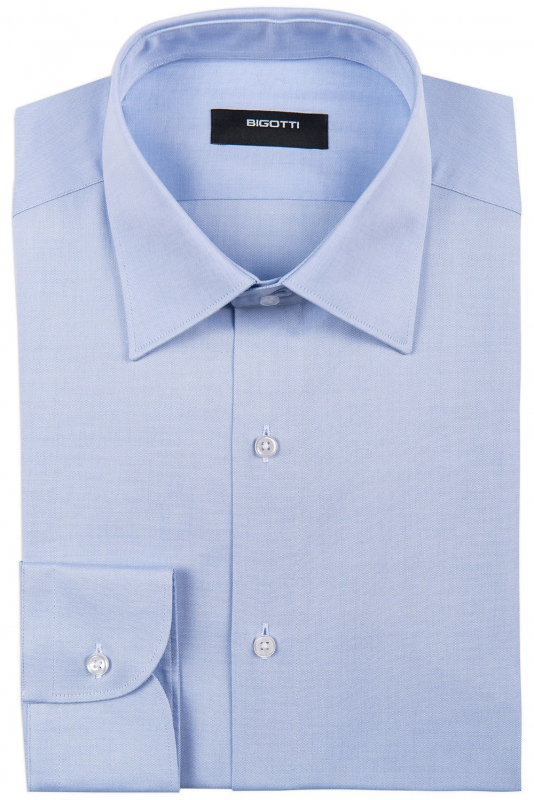 Comfort Light blue Plain Shirt