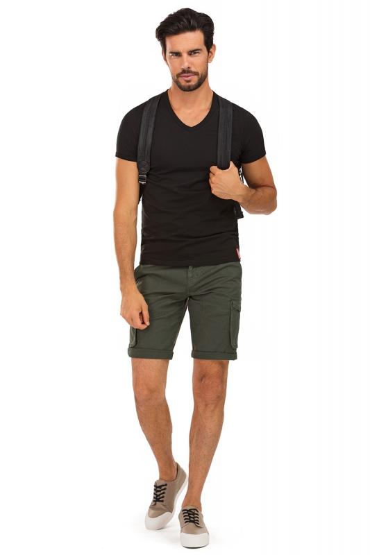 Green Plain Trouser