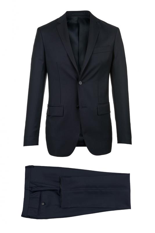 Slim Navy Plain Suit