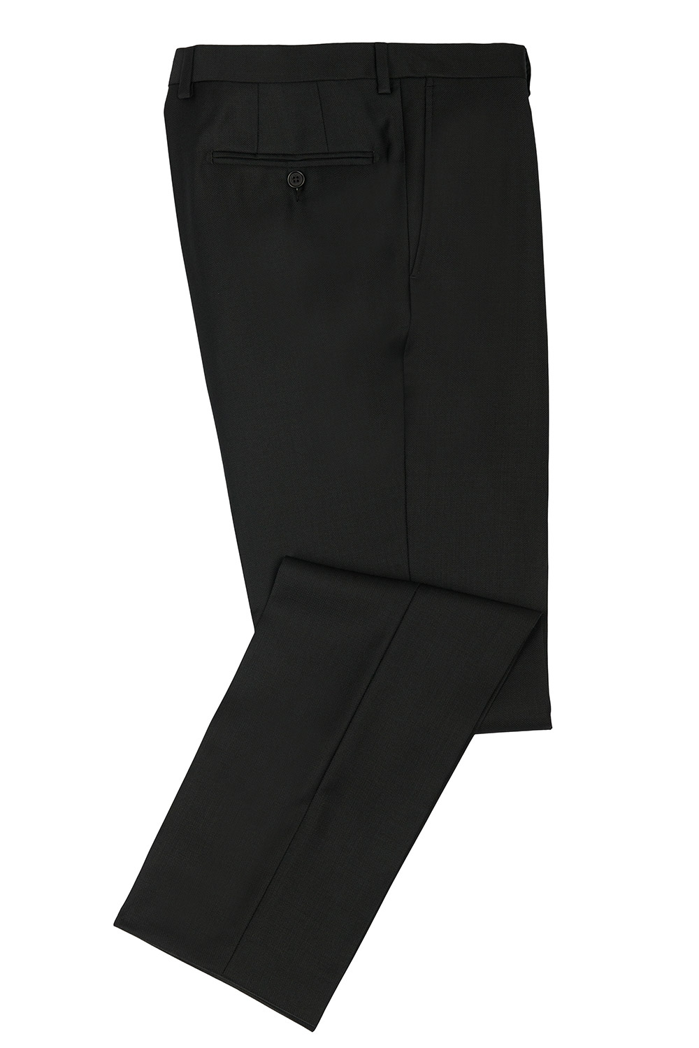 Superslim Black Plain Trouser 0