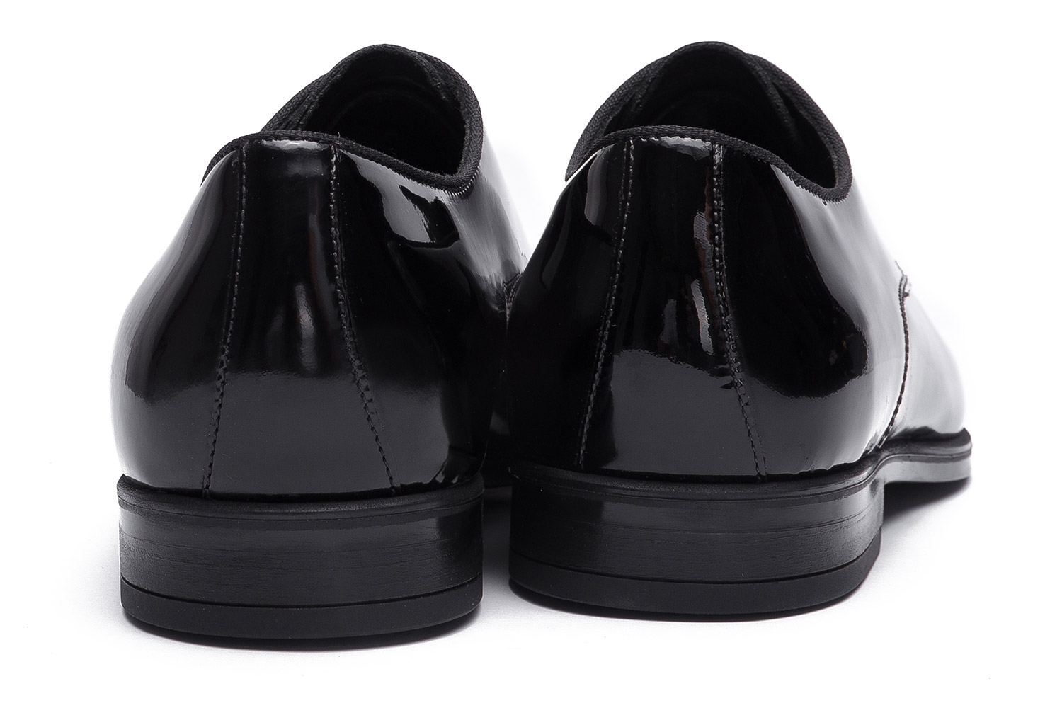 Black Genuine leather Shoes 2