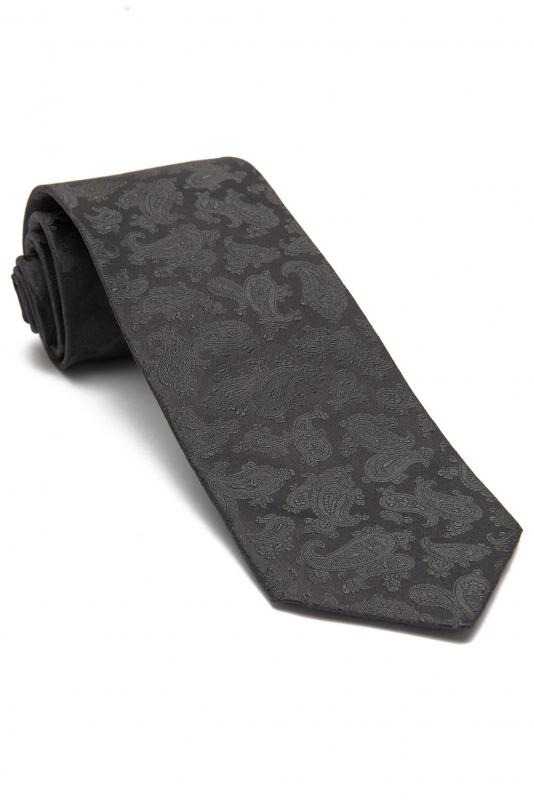 Grey Plain Tie