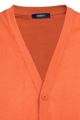 Slim Orange Plain Waistcoat