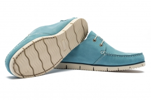 Blue Nubuck leather Shoes