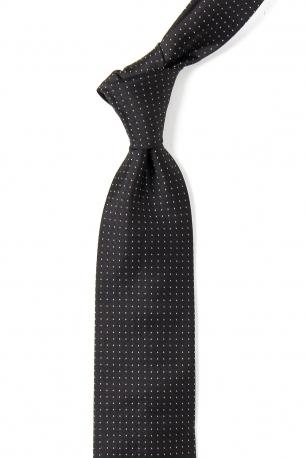 Black Geometric Tie