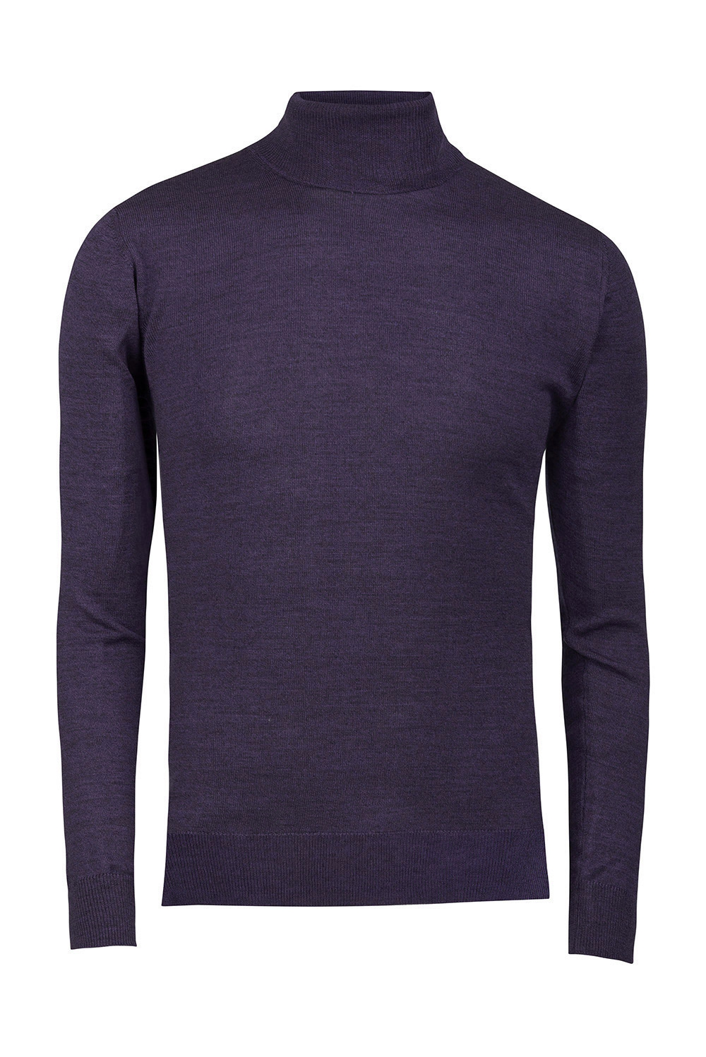 Slim Purple Sweater 2