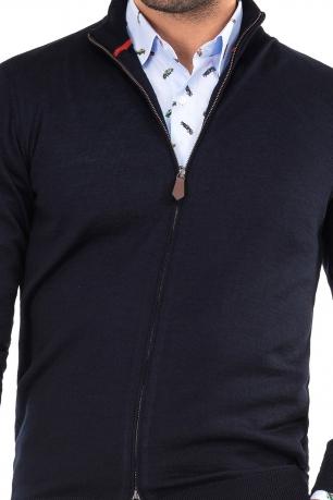 Regular body Navy Sweater