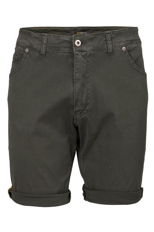 Slim Green Plain Trouser