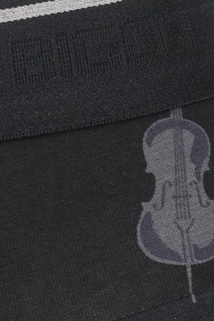 black geometric slips underwear