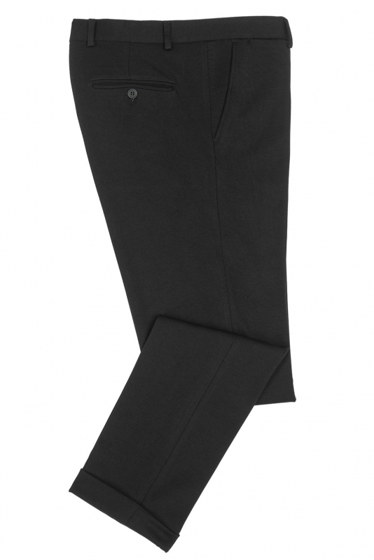 Black Plain Trouser