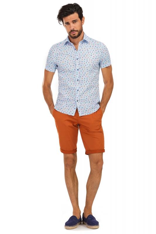 Orange Plain Trouser