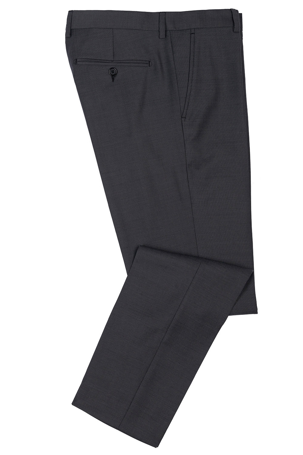 Slim body Grey Plain Trouser 0