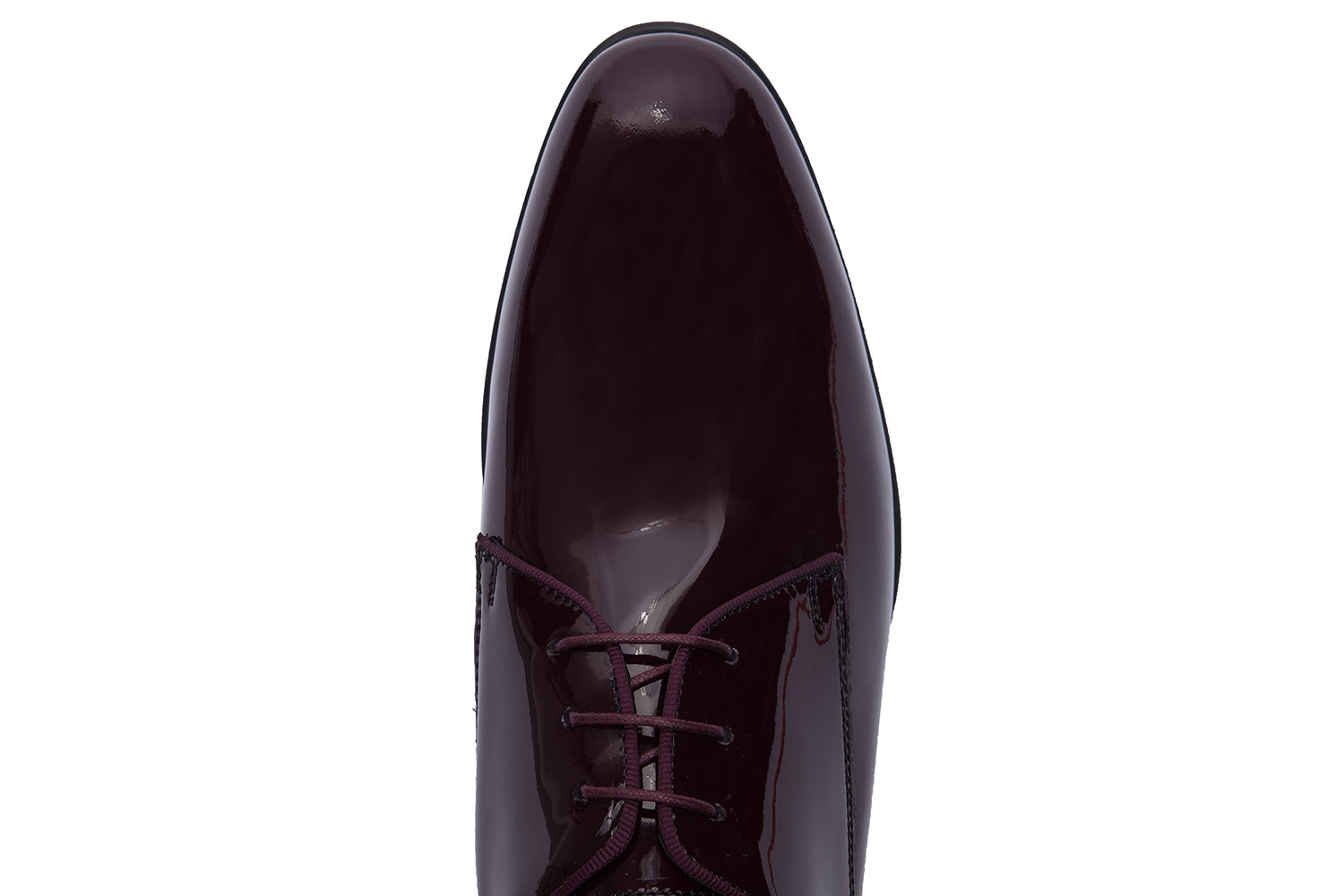 Burgundy Genuine leather Shoes 3