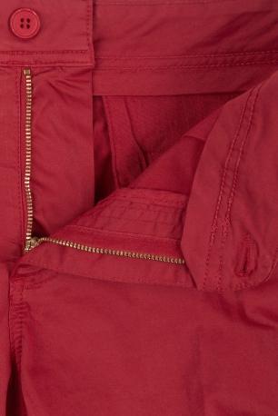 Red Plain Trouser