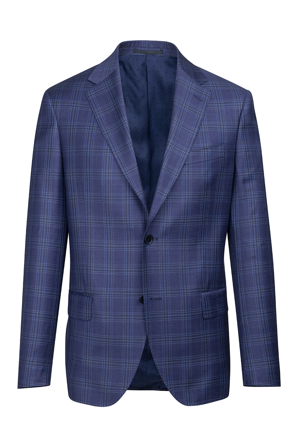 Purple Check Blazer 3