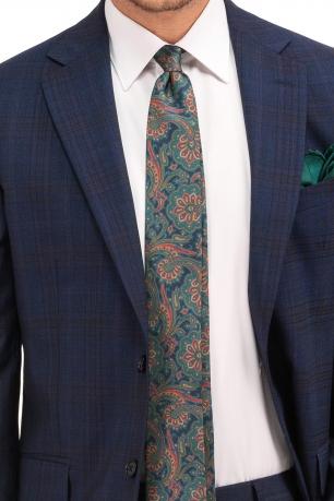 Superslim Blue Check Suit