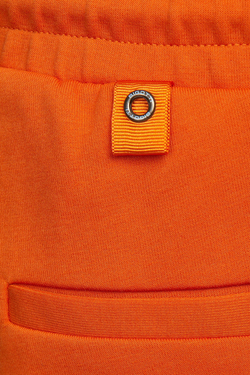 Slim body Orange Plain Trouser 2