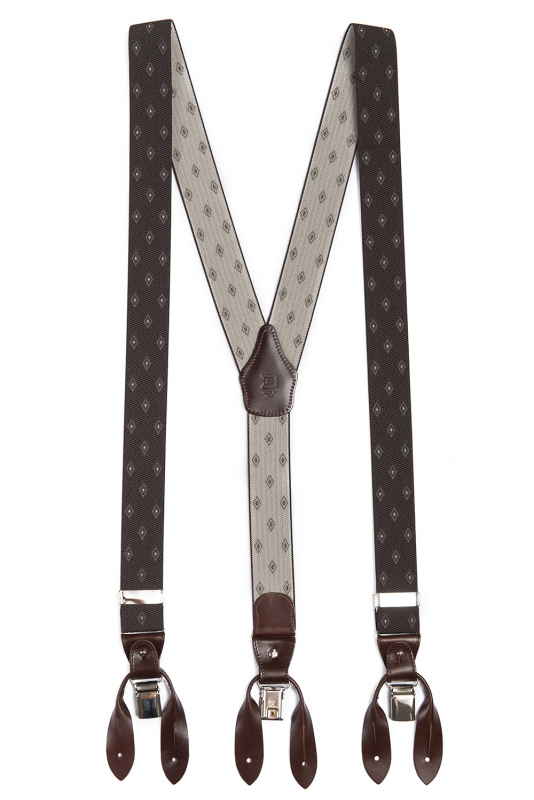 Brown Suspender