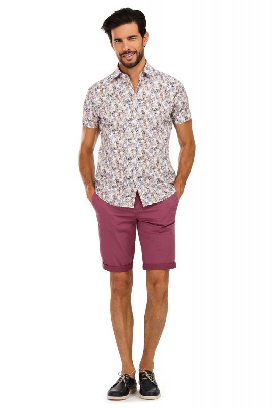 Purple Plain Trouser