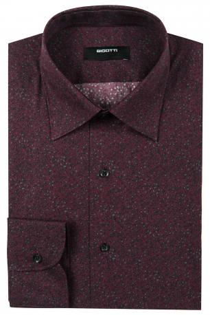 Slim Burgundy Shirt