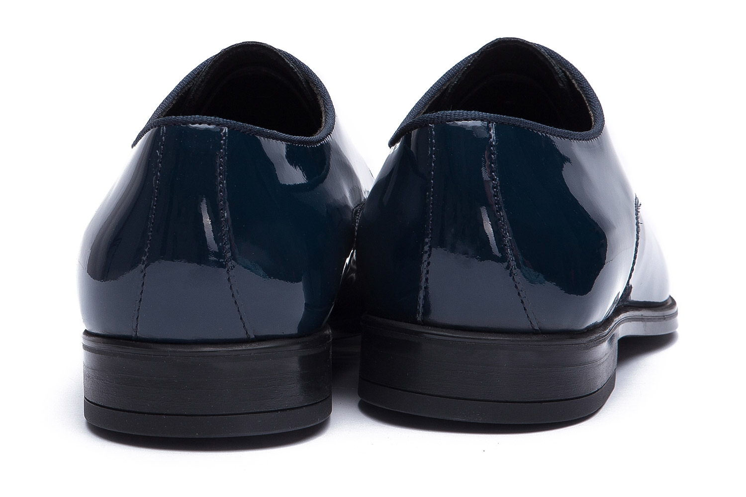 Navy Genuine leather Shoes 2