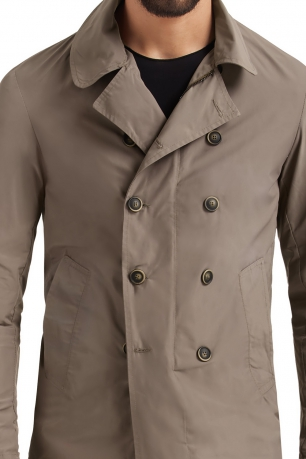 Beige Plain Jacket