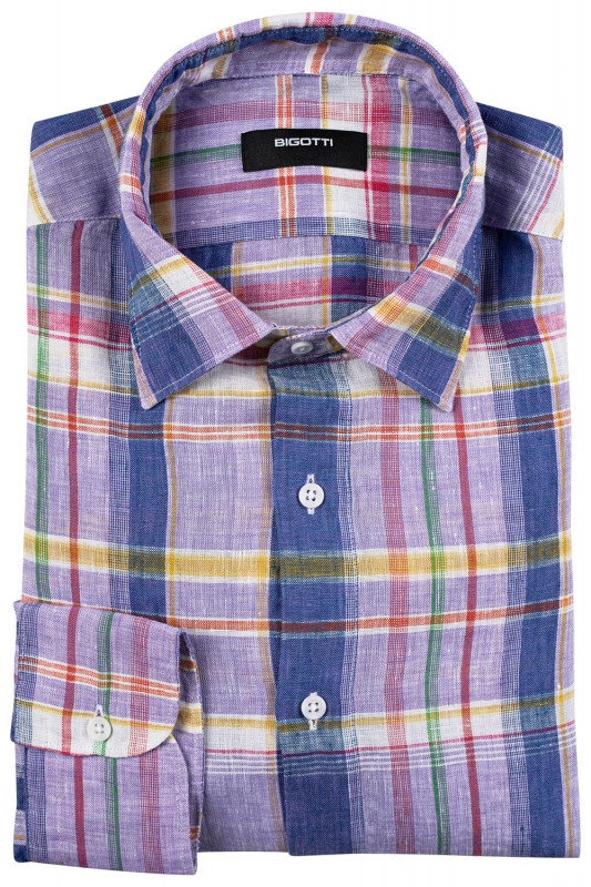 Superslim Multi-colored Carouri Shirt