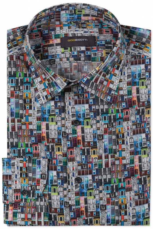 Slim Multi-colored Shirt