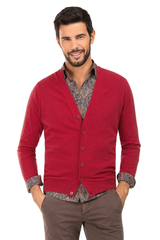 Regular body Red Sweater