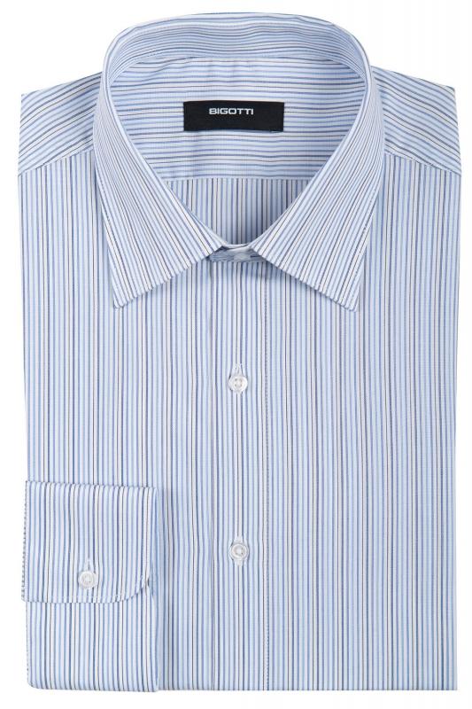 Slim Light blue Stripe Shirt
