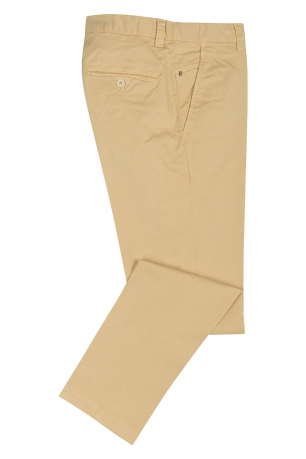 Slim Yellow Trouser