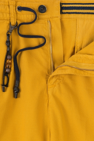 Confort(baggy) Yellow Plain Trouser