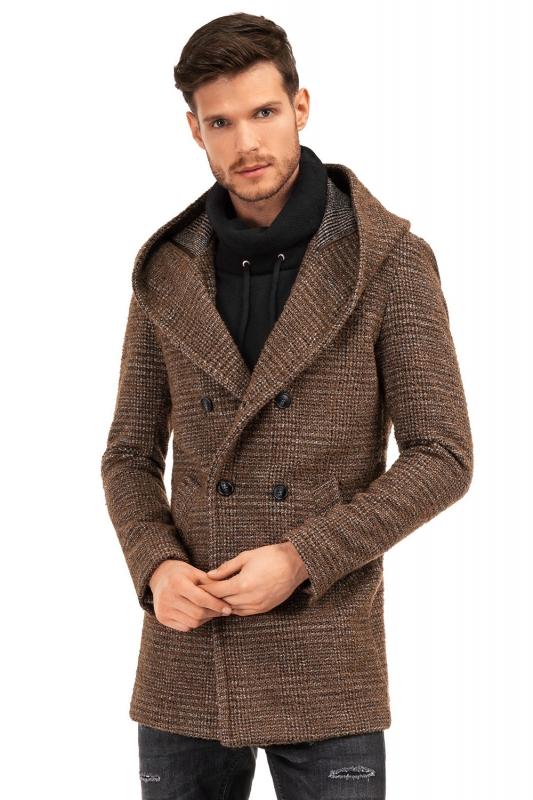 Brown Plain Coat