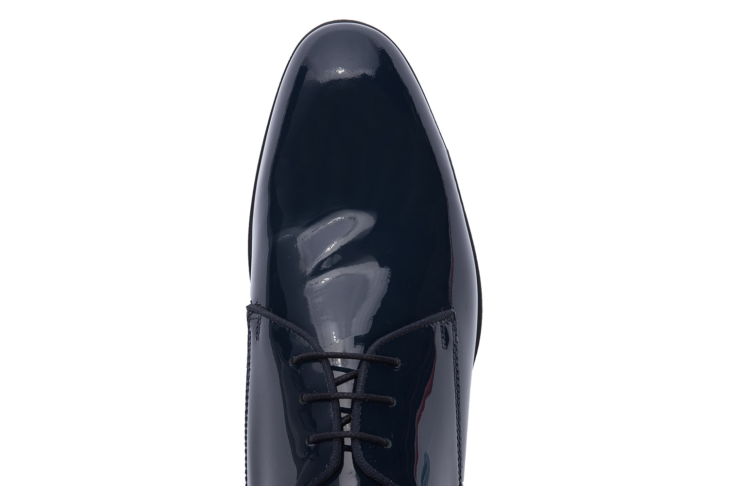 Navy Genuine leather Shoes 3