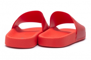 Red Pvc Flip-flops