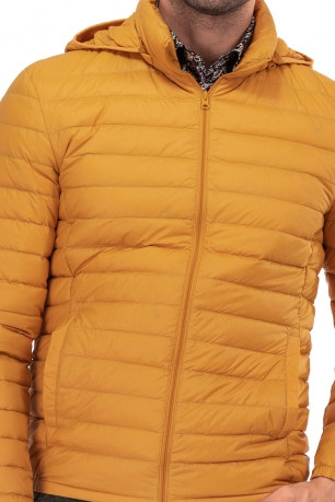 Yellow Plain Jacket