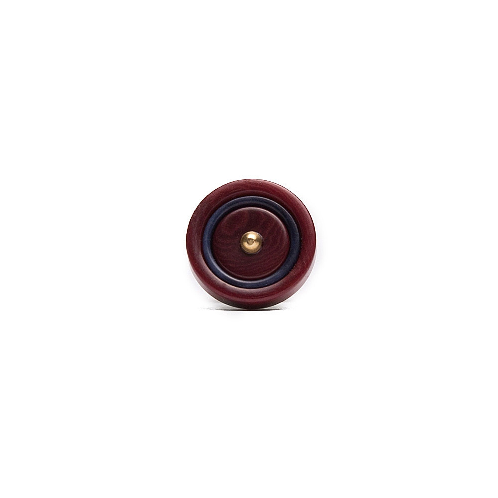 Burgundy Lapel pin 1