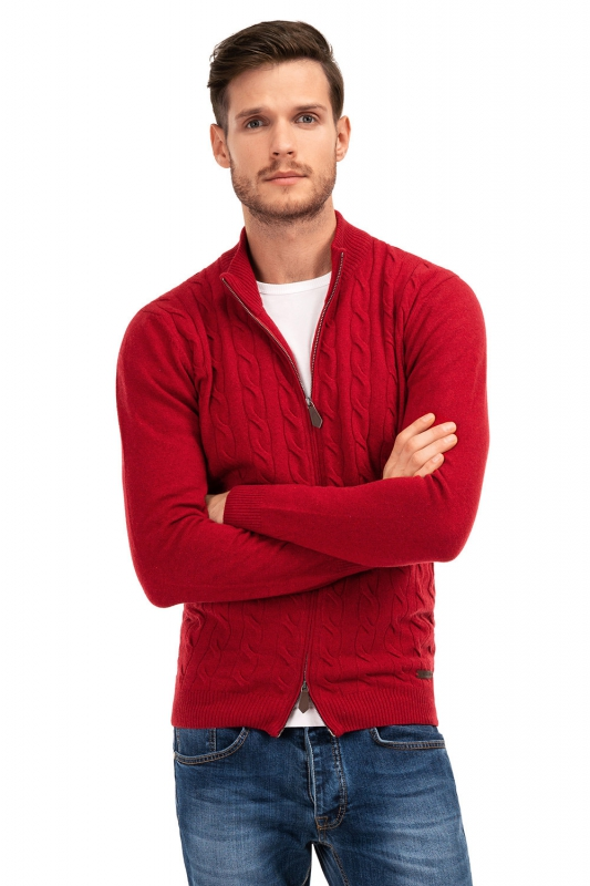 Slim Red Sweater