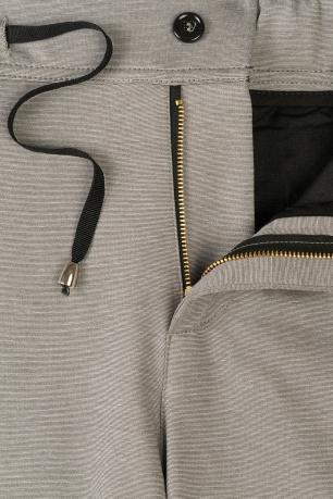 Slim body Grey Plain Trouser